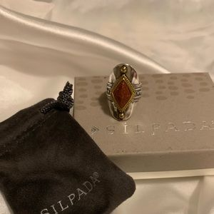 NEW Silpada Warm Hues Ring size 5 sterling silver